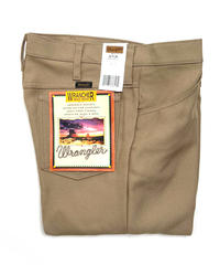 Wrangler Wrancher Dress Jeans Tan