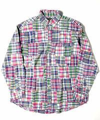 90s J.Crew Patchwork Shirts