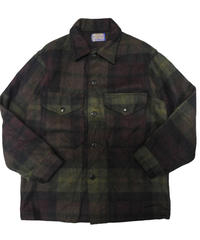 70's Pendleton Plaid Wool Jacket  [C-0135]