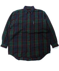"90's  Abercrombie & Fitch ""Big Shirt""  [C-0174]"