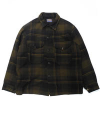 60's Pendleton Plaid Wool Jacket[C-0171]