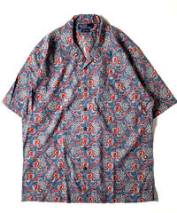 Ralph Lauren Flower Pattern Open Collar Shortsleeve Shirt