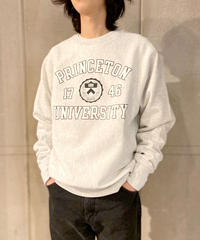 Princeton University Reverse Weave Crewneck Sweat Shirts