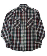 80's Five Brother Plaid Flannel shirt[C-228]