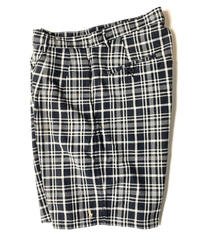 Ralph Lauren Front Pleat Plaid Shorts