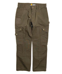 Carhartt Rip Stop Relaxed Fit Cargo Work Pants Dark Coffee (DFE)