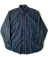 90s Nautica Blackwatch Longsleeve Shirt
