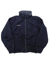 90's Columbia Fleece Lined Nylon Jacket  [C-0153]