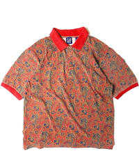 90s Gap Shortsleeve Paisley Polo Shirt