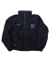 90's Columbia Fleece Lined Nylon Jacket  [C-0156]