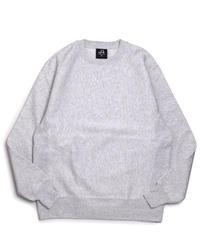J America Crewneck Sweatshirts Ash
