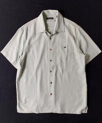 Silk Shortsleeve Shirt Sage Green