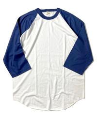 90s Screen Stars Raglan T-Shirts Navy/White (dead stock)