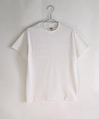 Book Vendor T-shirt (Logo /White×White)