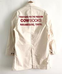 Book Vender Coat (Shop Coat/ Natural ×Red)