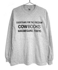 Longsleeve T-shirts (Logo/Lightgray × Black)