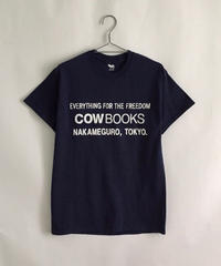 Book Vendor T-shirts (Logo/ Navy,White)