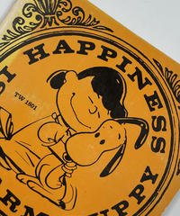 Title/ Happiness Is a Warm Puppy  Author/ Charles M.Schulz