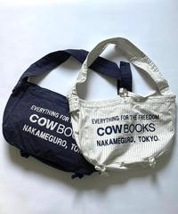 News Boy Bag (White/ Navy)
