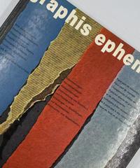 Title/ Graphis Ephemera   Author/ Walter Herdeg