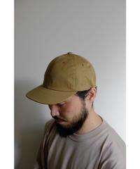 20AW ULTERIOR / BIZEN NO.1 TWILL 6 PANELED CAP / col.BEIGE
