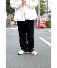 Blanc YM / Corduroy Easy Pants / col.Navy / size.M