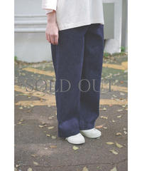 brassband / EURO WORK DENIM PANTS / col.INDIGO O.W / Lady's