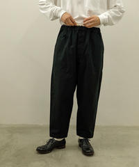 yoko sakamoto / WORK TAPERED TROUSERS / col.BLACK