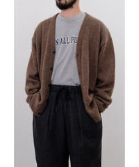 S.F.C / MOHAIR CARDIGAN / col.Brown
