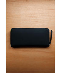 ERA. / BUBBLE CALF ROUND SLIM WALLET / col.BLACK