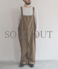 DEAD STOCK / CZECH OVERALL / col.ブラウン