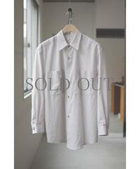 THE HINOKI / オーガニックコットンローン ルーズフィットシャツ / col.GRAY / Lady's