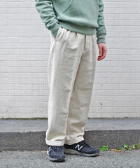 ENDS and MEANS / W/L Relax Fit Trousers / col.NATURAL