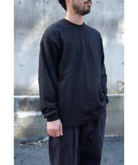 S.F.C -Stripes For Creative / BASIC LS TEE / col.BLACK