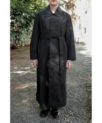 THE HINOKI / Organic Cotton Coat Dress / col.BLACK