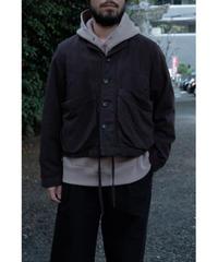 YOKO SAKAMOTO / CROPPED COACHES JACKET / col.OVERDYE BROWN / size.M