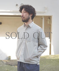 ENDS and MEANS / Light Jacket / col.Light Gray