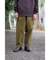 yoko sakamoto / WORK TAPERED TROUSERS / col.OLIVE / size.L