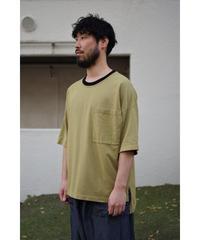 YOKO SAKAMOTO  / POCKET T-SHIRT / col.DARK YELLOW