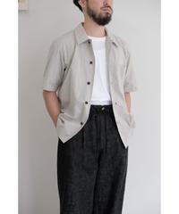 THE HINOKI / オーガニックコットンポプリン Wチェック 半袖シャツ / col.チェック / size.3