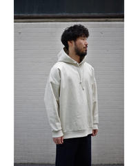 Blanc YM / Coating Sweat Parka / col.BEIGE / size.M