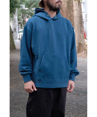 ULTERIOR / SUVIN COTTON BULKY TERRY HOODIE / col.TEAL GREEN