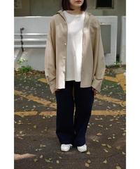 BlancYM / S/W Royal Oxford Shirt / col.BEIGE / Lady's