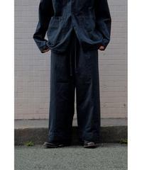 YOKO SAKAMOTO / WORK TROUSERS BAGGY / col.BLACK
