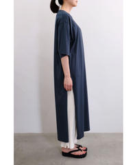 bunt / SLIT ONEPIECE TEE / col.NAVY / Lady's