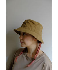 20AW ULTERIOR / BIZEN NO.1 TWILL BUCKET HAT / col.BEIGE