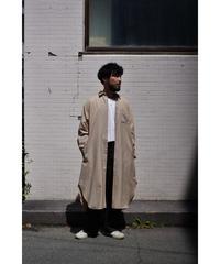 Blanc YM / S/W Royal Oxford Long Shirt / col.BEIGE