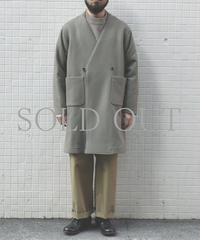 bunt / GOWN COAT / col.カーキ / Men's