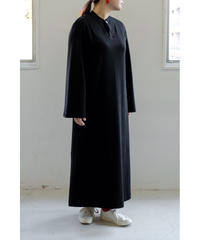 THE HINOKI / Organic Cotton Pullover Dress / col.BLACK