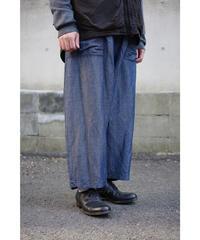 YOKO SAKAMOTO / BAGGY TROUSERS / col.BLUE GRAY